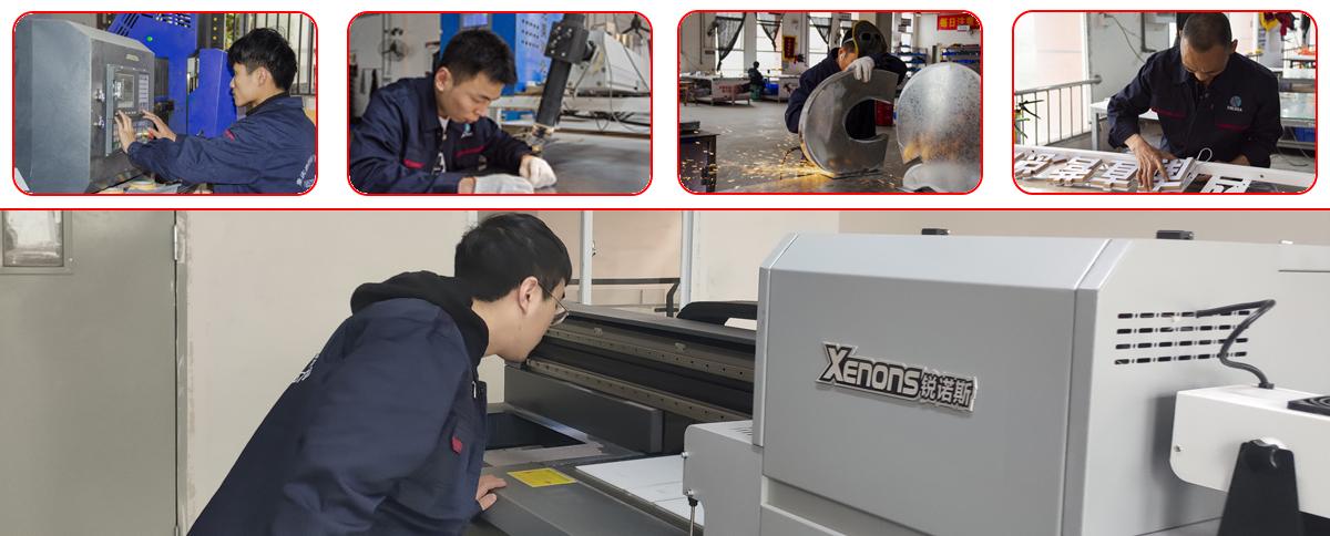 工厂制作-led不锈钢铁皮金属发光字制作生产厂家-重庆鑫丽华广告